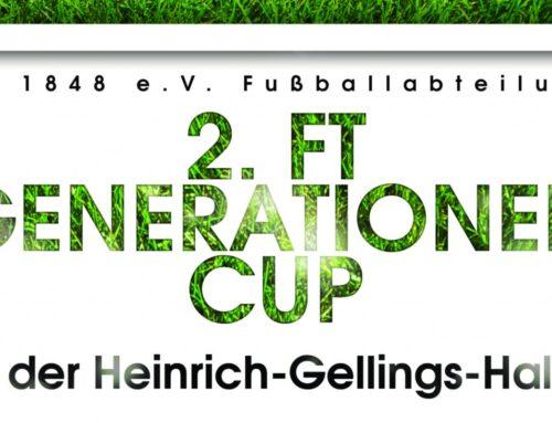 Es ist wieder soweit: 2. FT Generationen Cup am 19. Januar 2019!